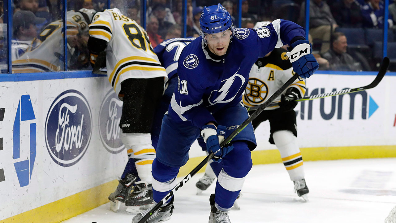 Lightning's Cernak suspended two games for elbowing Sabres' Dahlin