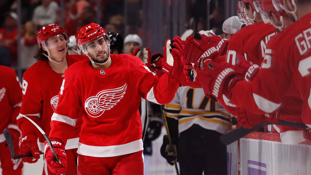 Fabbri finds his wings in Detroit