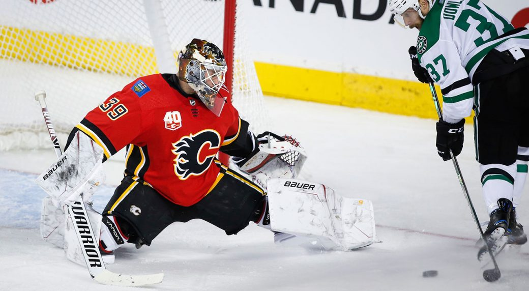 Pavelski leads Stars past Flames for eighth win in 10 games