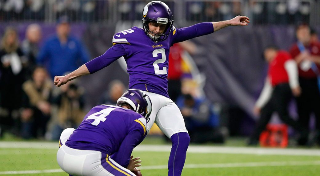 Kai Forbath becomes the latest kicker on Patriots' carousel