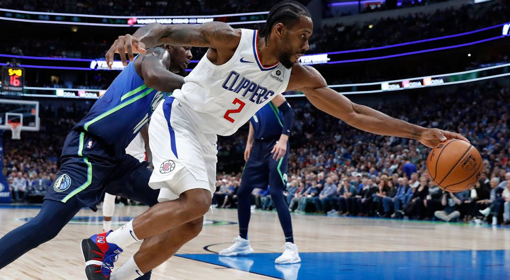 Clippers Ease Past Mavericks In Matchup Of Five Game Win