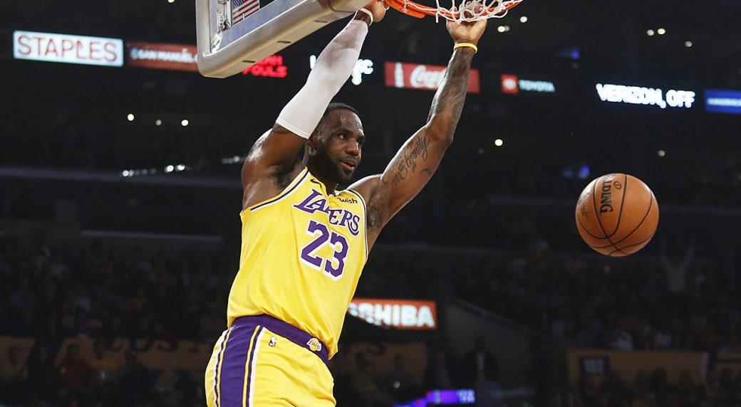 LeBron-James;-Los-Angeles-Lakers