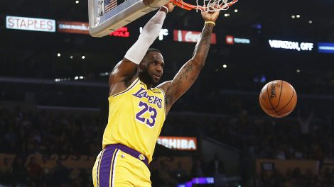 LeBron-James;-Los-Angeles-Lakers