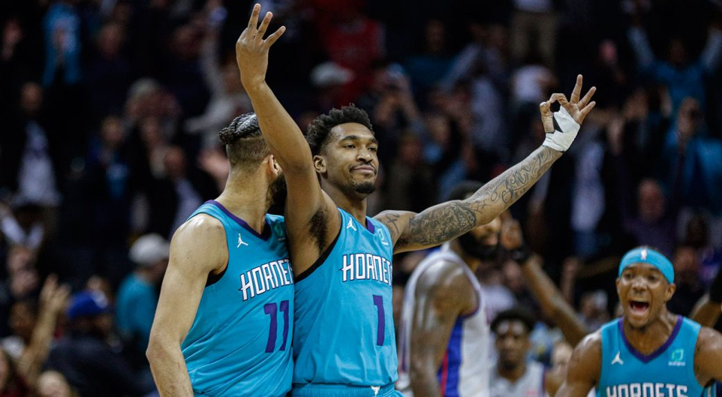 Pistons drop fourth straight, fall to Hornets