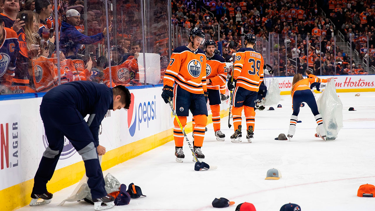 Oilers' Connor McDavid unfazed by weight of his career-best night