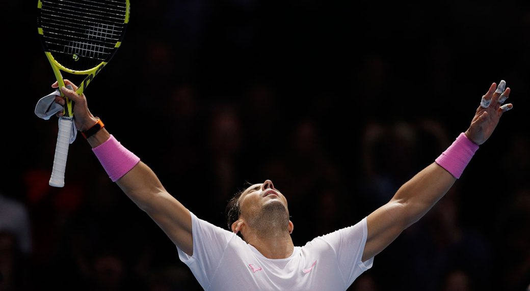 Rafael Nadal apologises to Daniil Medvedev after producing stunning ATP Finals comeback