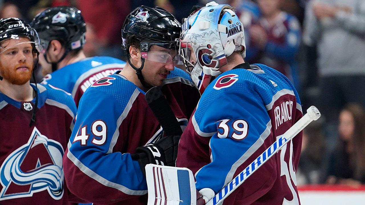 Avs' finish their home stand with a win, now head out for five on the road.