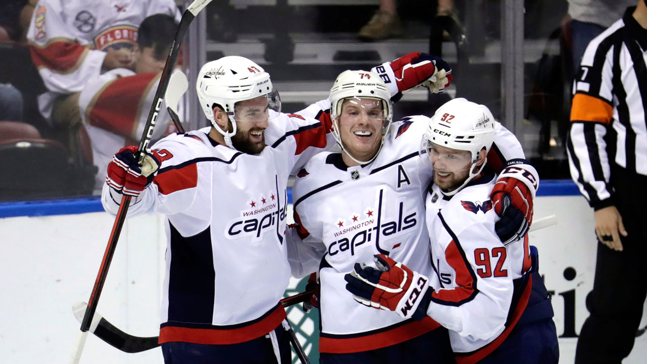 High flying Capitals beat the Panthers in O.T.