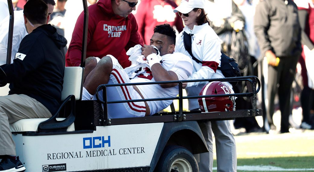 Tagovailoa to undergo surgery for 'serious' hip fracture