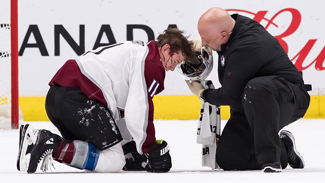MacKinnon on Calvert injury: 'I can only imagine if that was LeBron James'