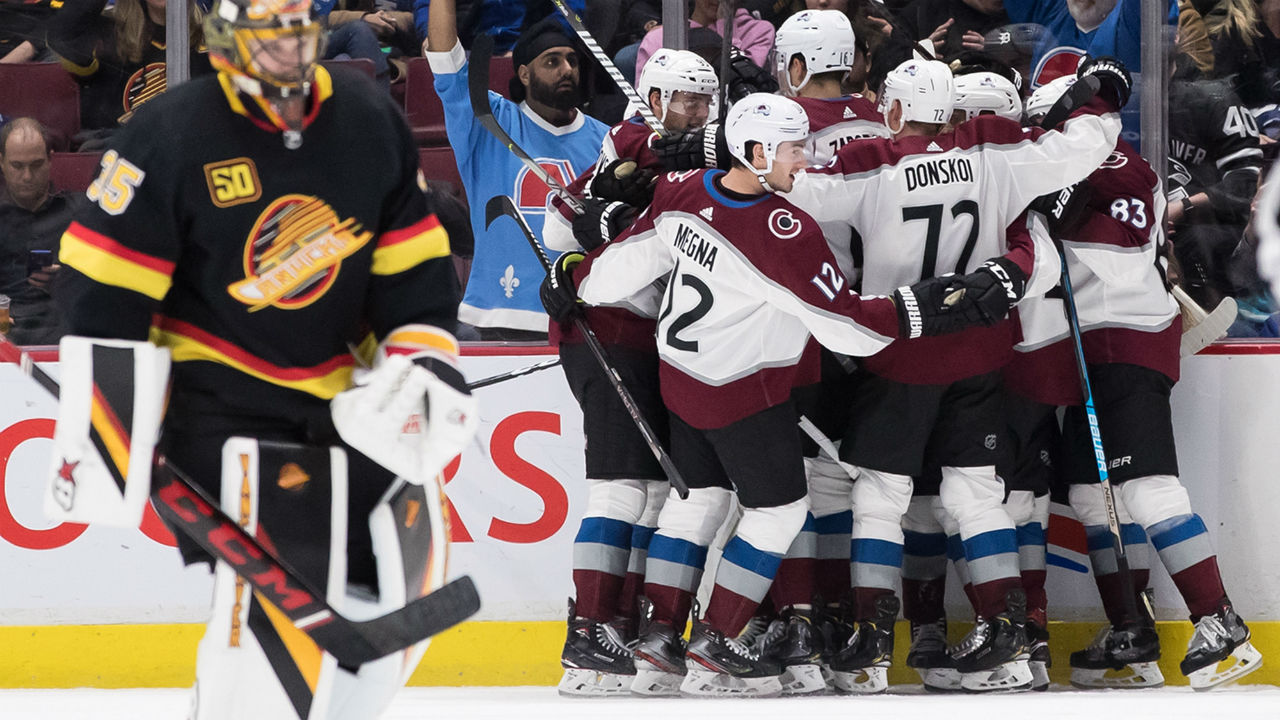 Avalanche's Nathan MacKinnon channels anger to get best of Canucks