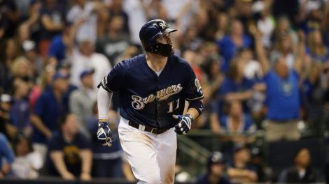 brewers-mike-moustakas-watches-home-run-against-pirates