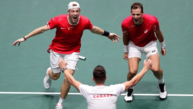 canadas-denis-shapovalov-and-vasek-pospisil-celebrate