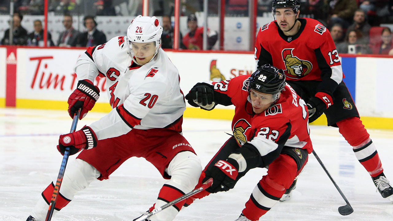 Two in four helps the Sens outpace the 'Canes