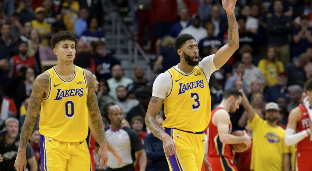 Anthony Davis Drops 41 Points Vs Former Team As Lakers Past Pelicans Sportsnet Ca