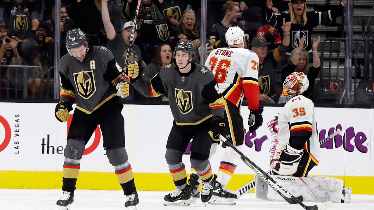 Flames' woes continue with shutout loss to Golden Knights - Sportsnet.ca
