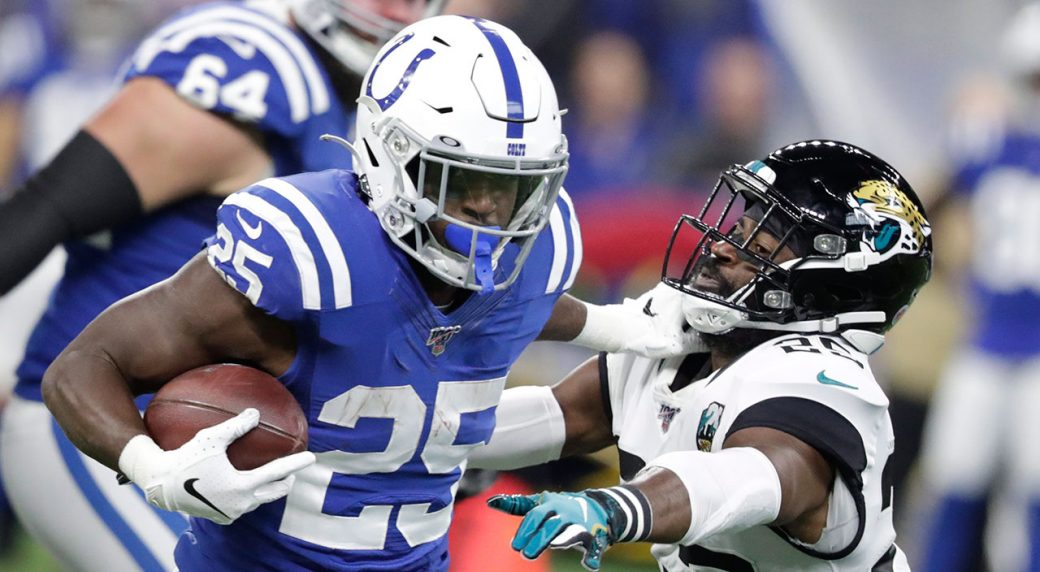 Colts RB Marlon Mack has surgery on hand, out indefinitely