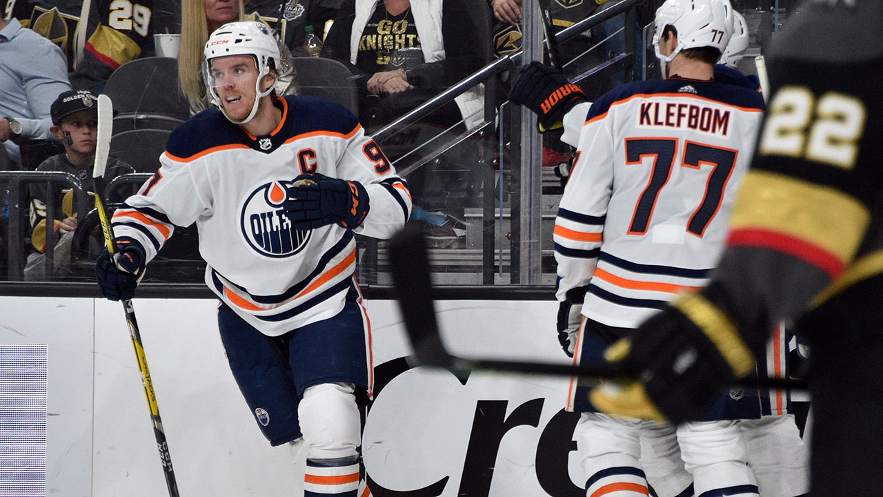 Dynamic duo do it again to lead the Oilers over the Knights