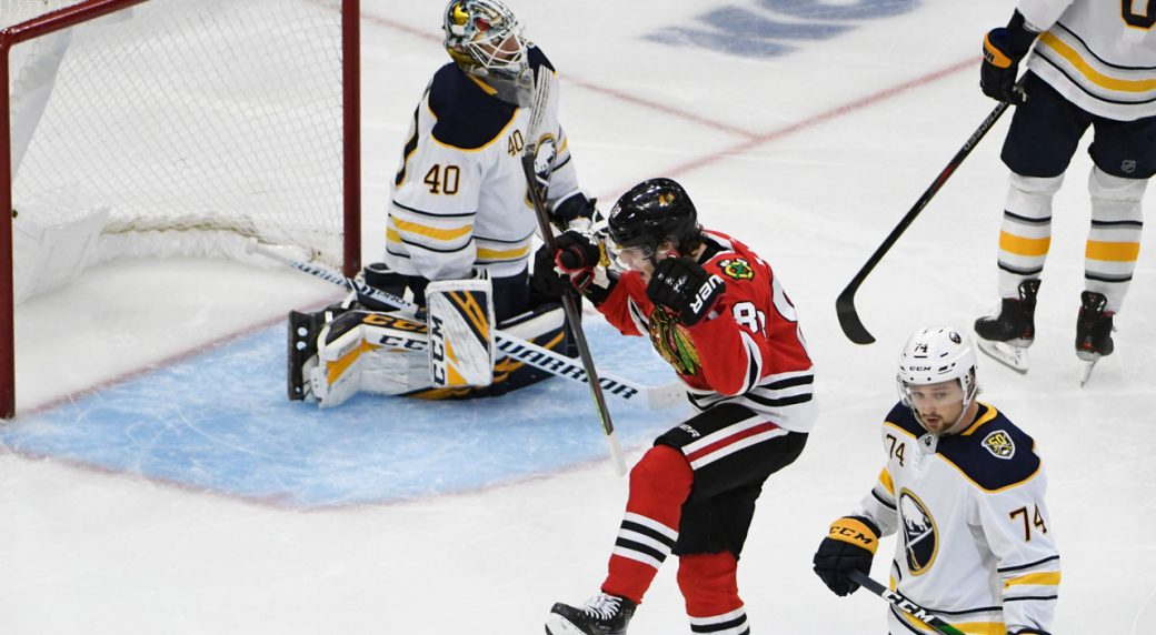 Dach emerging as impact-type player for Blackhawks
