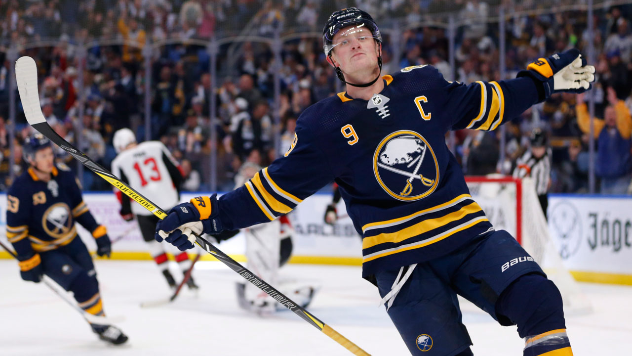 Buffalo ride Eichel and his 4 point night to a big win over Sens