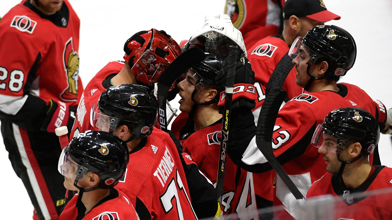 Home ice gives Sens the edge over struggling Kings