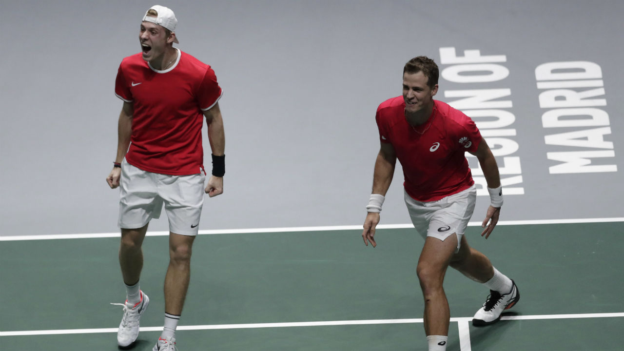 Canada's historic Davis Cup run continues with title now in reach - Sportsnet.ca