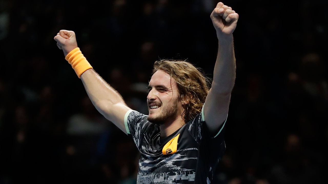 Tsitsipas beats Thiem in three sets to win ATP Finals title