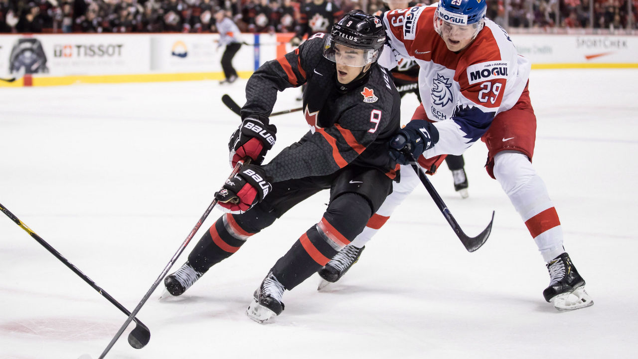 Canada eyes Dach, Dobson, Hayton, Veleno for world junior roster