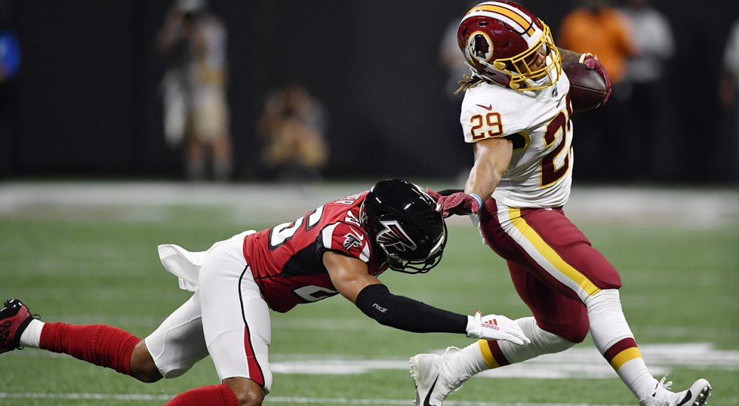 Redskins place Derrius Guice on injured reserve following Week 14 knee injury