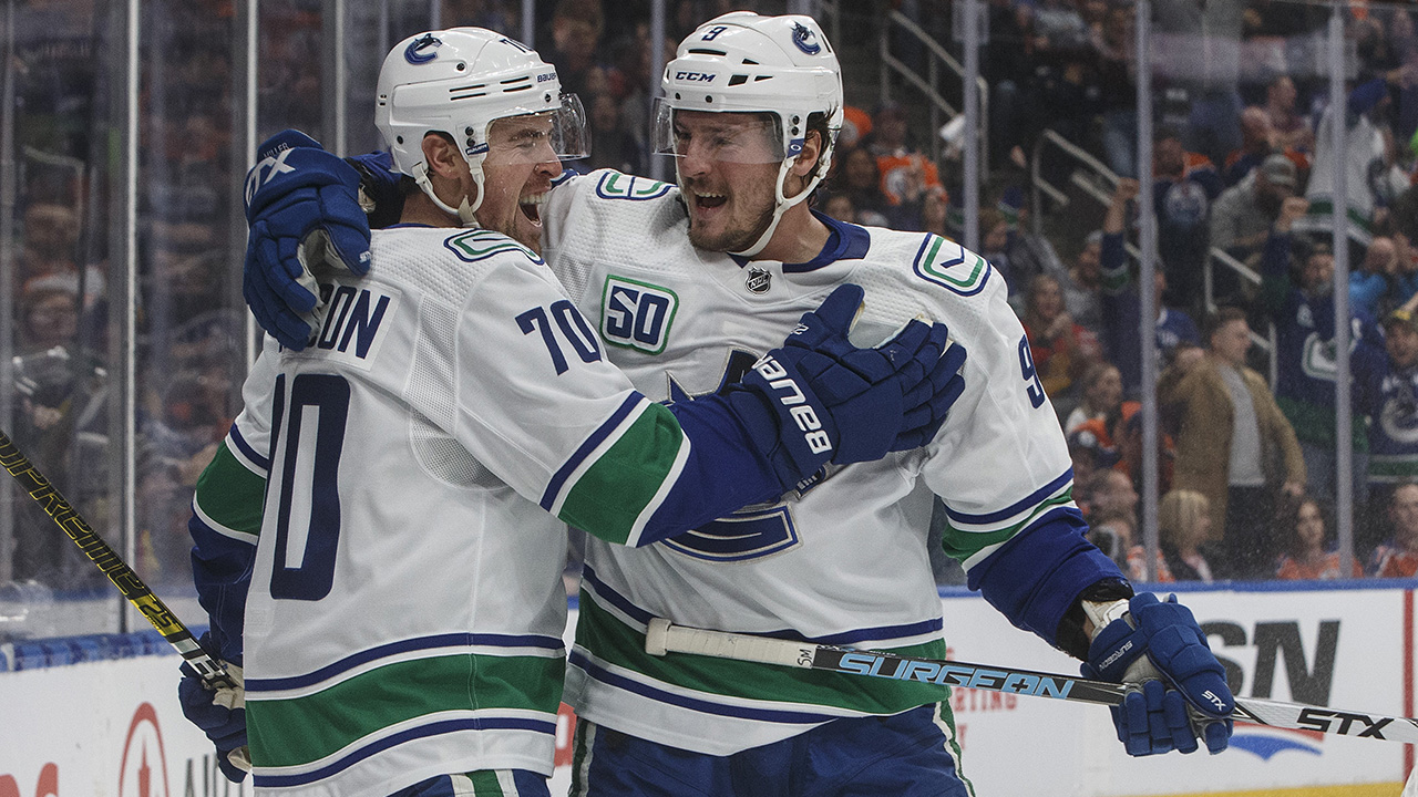 Canucks end their road trip with a very solid effort in Alberta