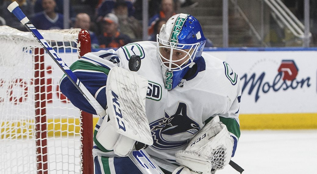 Canucks Confident Jacob Markstrom Will Return To Form In Playoff Debut Sportsnet Ca