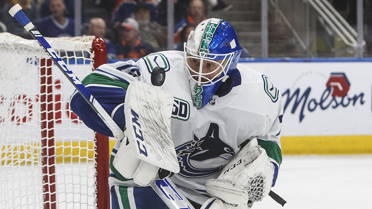 Canucks confident Jacob Markstrom will return to form in playoff debut
