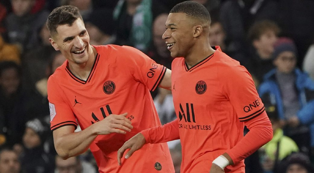 Neymar: No competition with 'good friend' Kylian Mbappe