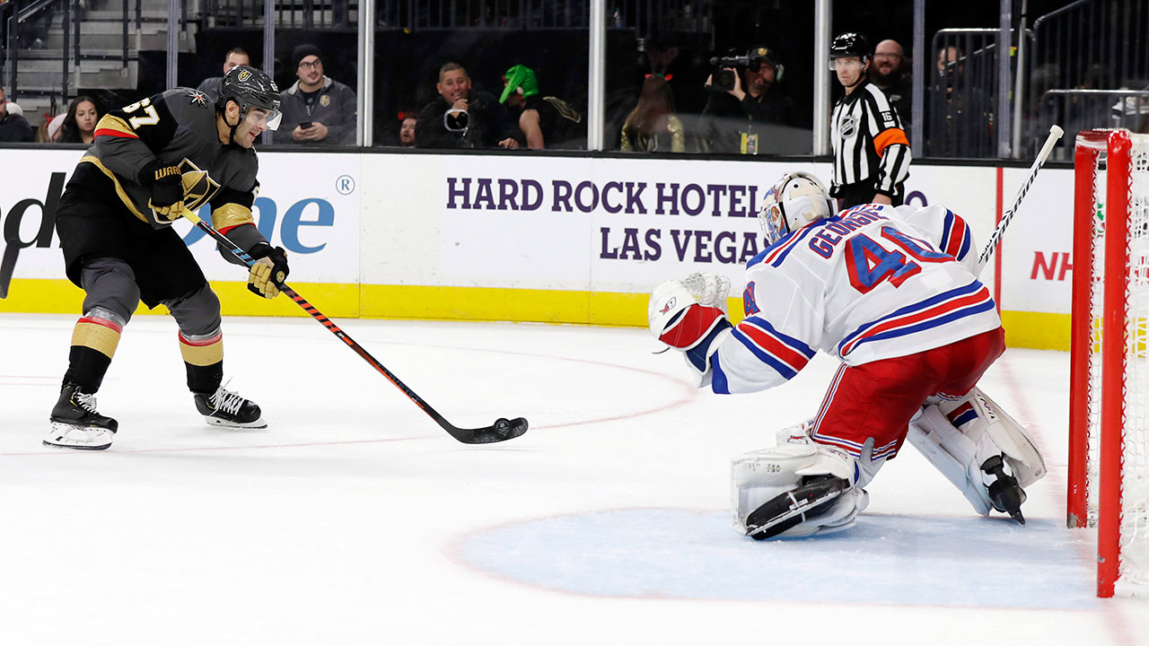 A knight to forget for Vegas as the Rangers run the table