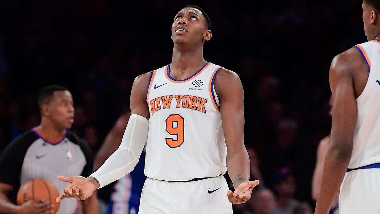 RJ Barrett learning to adjust to life in NBA with Knicks - Sportsnet.ca