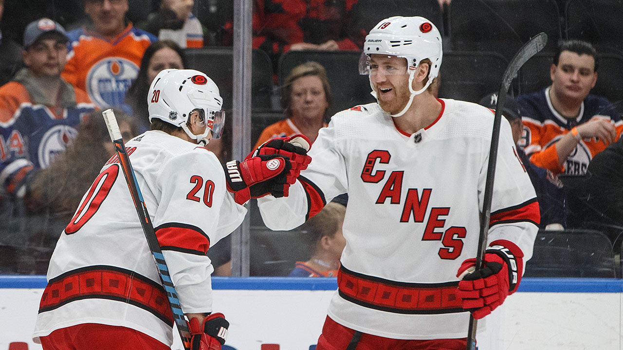 Oilers get a caning in the third from surging Hurricanes