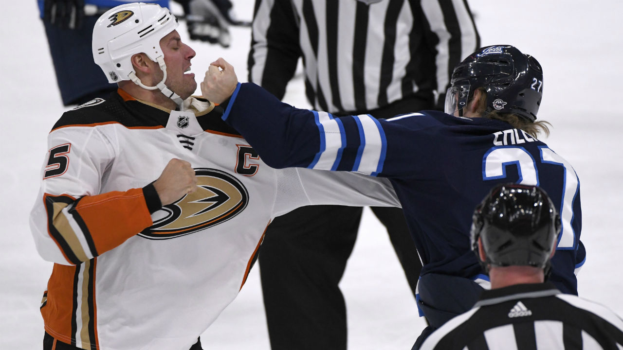 Maurice on Ehlers' fight vs. Getzlaf: 'God bless him, don't do it again'