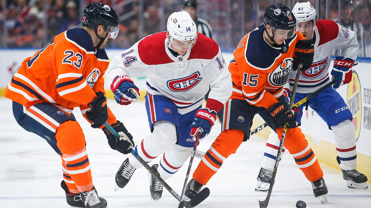 Oilers Beat Canadiens With Clutch Goals From Unlikely Heroes Sportsnet Ca