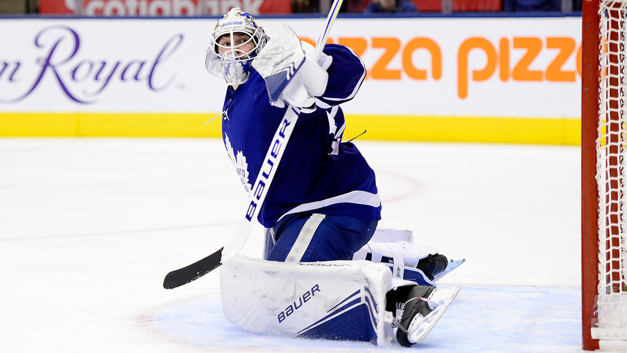Maple Leafs place goalie Michael Hutchinson on waivers - Sportsnet.ca