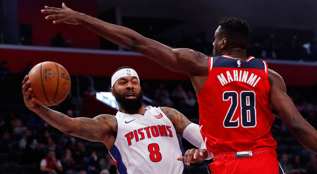 Short-Handed Pistons lose to the Washington Wizards at home