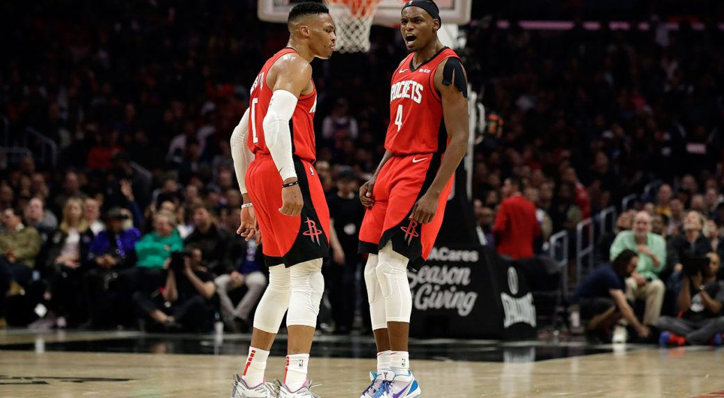 Westbrook Scores 40 As Rockets Rally To Defeat Clippers
