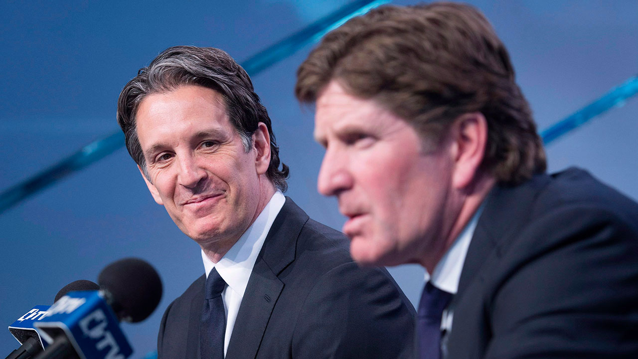 Shanahan goes on the record with his thoughts about the Mike Babcock situation