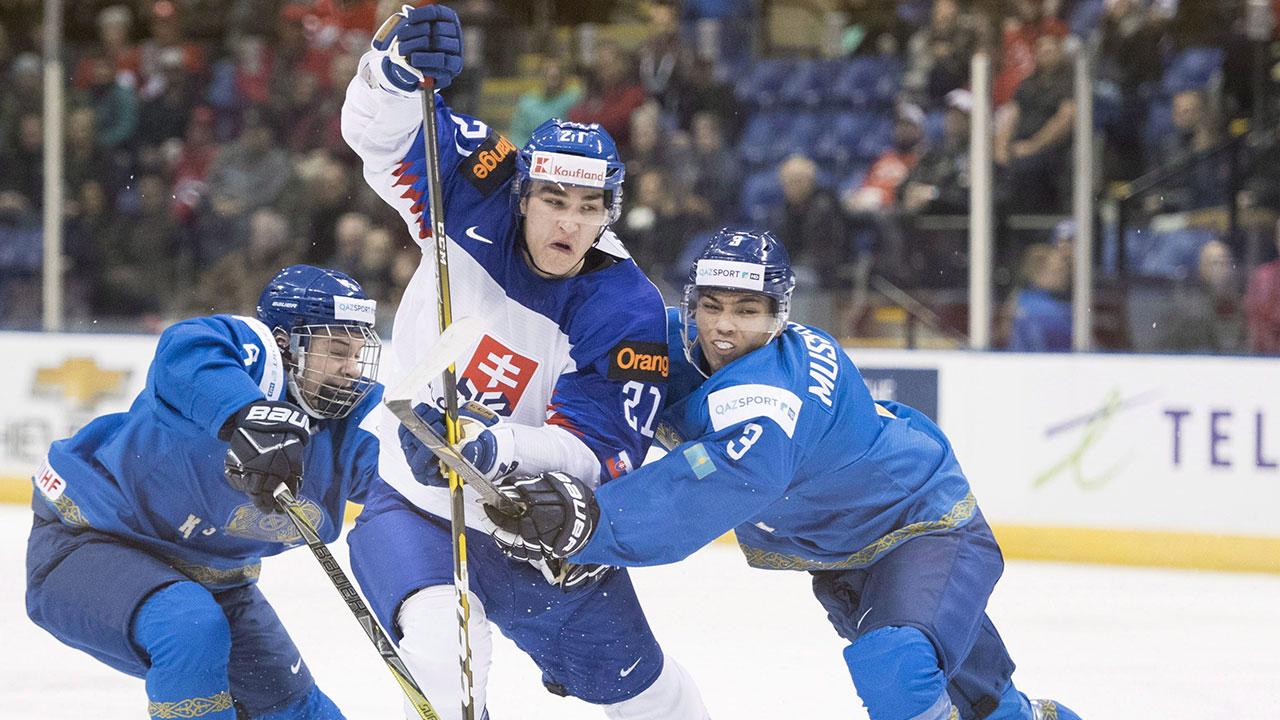 Slovaks hand Kazakhstan their second loss at World Juniors