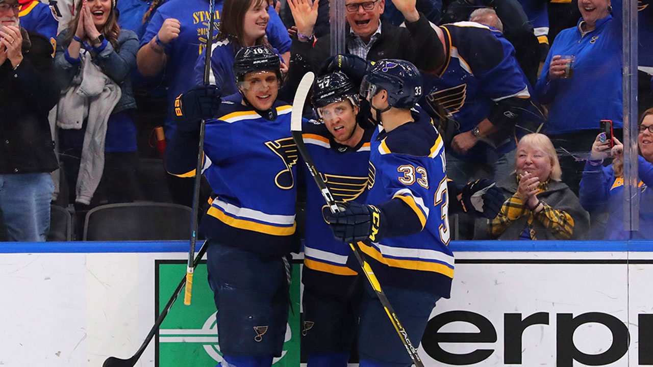 Blues are on a tear with yet another big win
