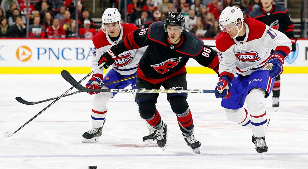 Canadiens vs. Hurricanes - Game Recap - 1 January 2020