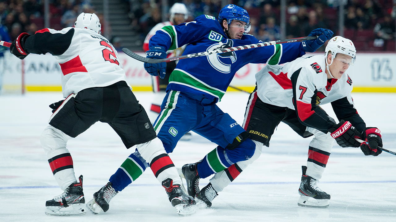 Canucks honour Burrows by playing his style of hockey vs. Senators