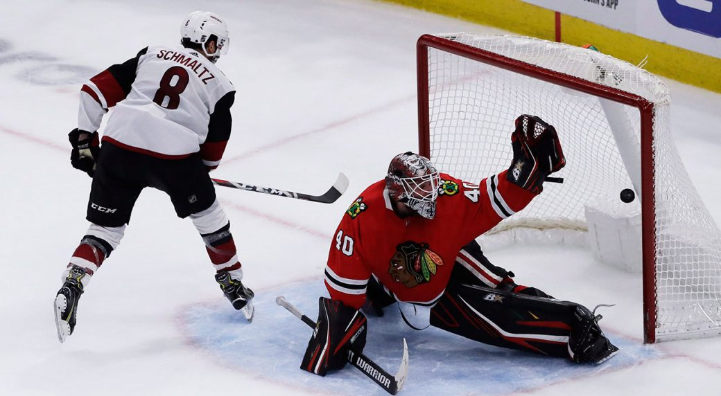 Coyotes rally to defeat Blackhawks in shootout
