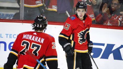 flames-johnny-gaudreau-celebrates-goal-with-sean-monahan