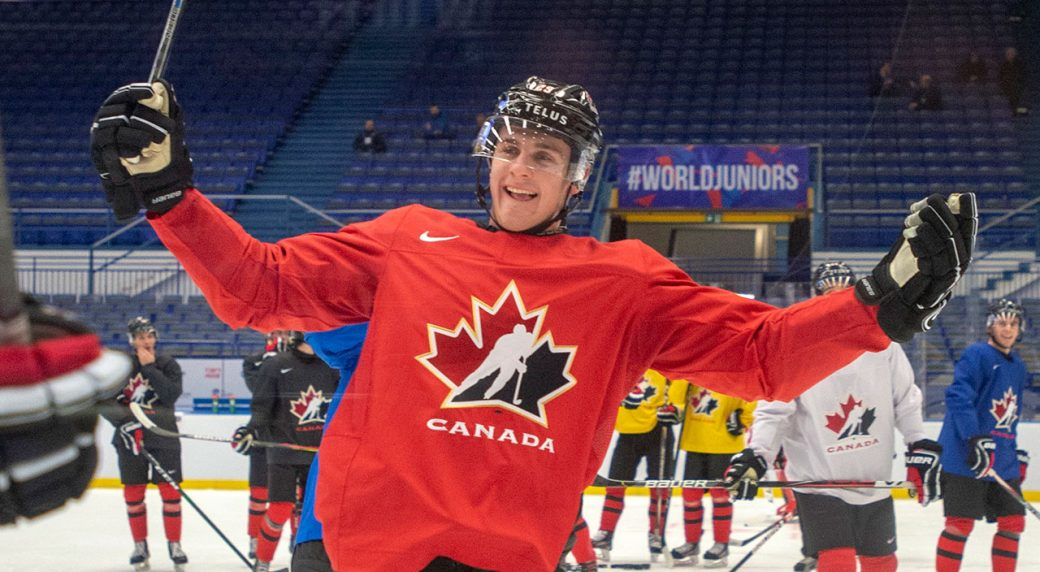Canada routs Finland to advance to final at world juniors