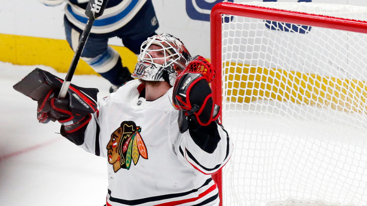 Lehner leads the charge again as the Hawks down the Jackets in Columbus